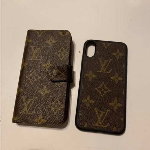 new product c0a3c 4afba Repurposed LV IPhone X cases